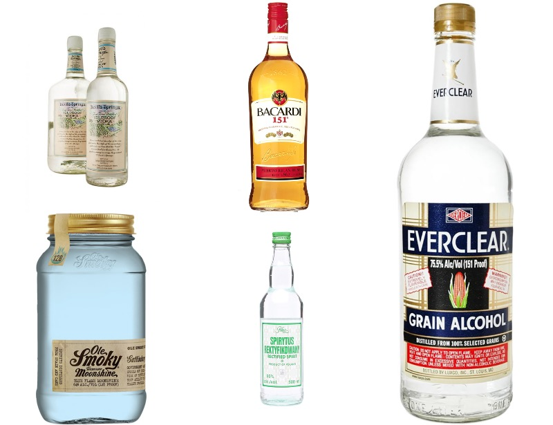 7 Alcoholic Drinks That Could Actually Kill You Absinthe Everclear More
